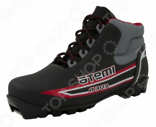 Ботинки лыжные Atemi A303. Цвет: красный