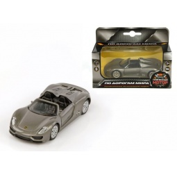 фото Машинка коллекционная Пламенный Мотор Porsche 918 Spyder 870146. В ассортименте