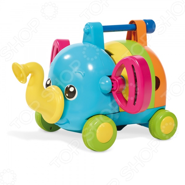 Каталка для малыша музыкальная Tomy «Слоненок-Оркестр»