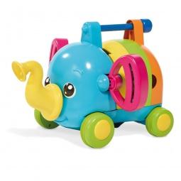 фото Каталка для малыша музыкальная Tomy «Слоненок-Оркестр»