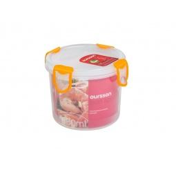 фото Контейнер для хранения продуктов Oursson Clip Fresh CP0700R. Цвет: оранжевый