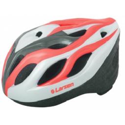 фото Шлем защитный раздвижной Larsen H3BW. Цвет: красный