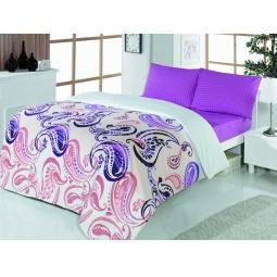 фото Комплект постельного белья Casabel Royal. 1,5-спальный. Цвет: сиреневый