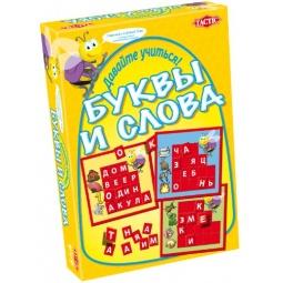 Купить Игра обучающая Tactic «Учим буквы и слова»