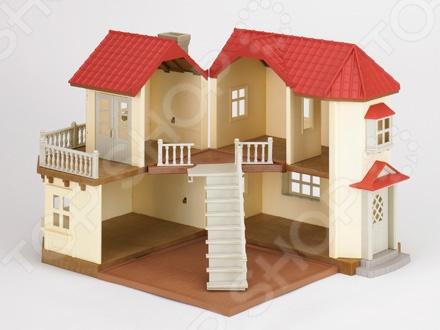 Игровой набор Sylvanian Families «Большой дом с освещением»