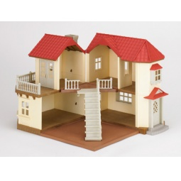 Купить Игровой набор Sylvanian Families «Большой дом с освещением»