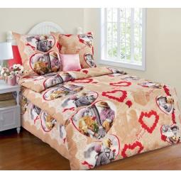 фото Комплект постельного белья Белиссимо «Дружба». 1,5-спальный