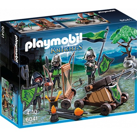 Купить Конструктор игровой Playmobil «Рыцари: Катапульта Рыцарей Волка»