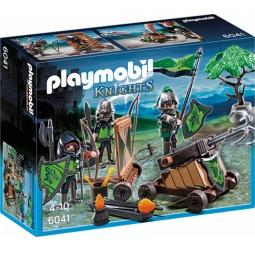 фото Конструктор игровой Playmobil «Рыцари: Катапульта Рыцарей Волка»