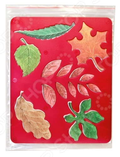 Трафарет пластиковый Луч Листья деревьев для творчества, который станет отличным подарком для ребенка. С помощью такого трафарета можно создать уникальную коллекцию фигурок используя акварель, пластилин, карандаши и другие предметы. Для этого необходимо приложить трафарет к поверхности, и обвести по контуру. Подобные занятия способствуют развитию фантазии, учат ребенка правильно сочетать различные цвета, фигуры и формы.