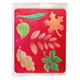 фото Трафарет пластиковый Луч «Листья деревьев»