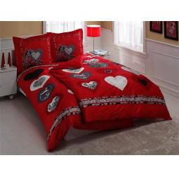 фото Комплект постельного белья TAC Just love. Семейный