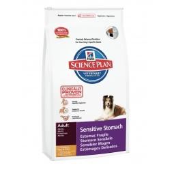 фото Корм сухой диетический для собак Hill's Science Plan Sensitive Stomach