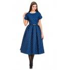 Фото Платье Mondigo 5188. Цвет: синий. Размер одежды: 42