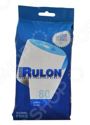Туалетная бумага влажная гипоаллергенная антибактериальная Авангард MR-48124 Mon Rulon