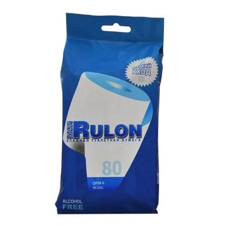 Купить Туалетная бумага влажная гипоаллергенная антибактериальная Авангард MR-48124 Mon Rulon