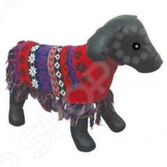 Свитер-пончо для собак DEZZIE «Индиан» свитер попона для собак dezzie 563560