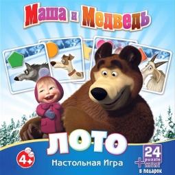 фото Лото развивающее Оригами «Маша и Медведь» 12547