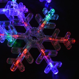 Купить Гирлянда электрическая Новогодняя сказка «Снежинки» 971604