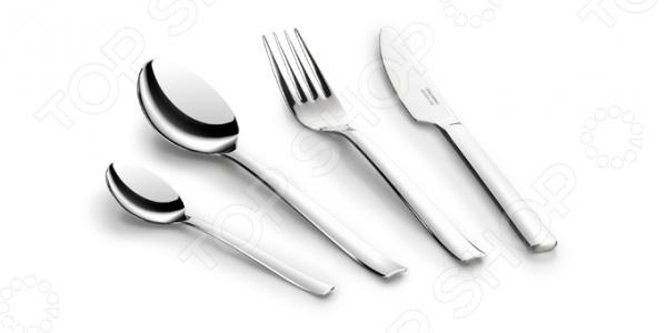 Набор столовых приборов Tescoma BanquetСтоловые приборы<br>Качественные и практичные столовые приборы главный и незаменимый атрибут любого стола. Столовые комплекты и наборы, которые предоставляют ансамбль всех необходимых принадлежностей также служат признаками вкуса и высокого уровня воспитания хозяев дома. Набор столовых приборов Tescoma Banquet правильный выбор для тех, кто ценит простоту, комфорт, элегантность и современный стиль. Все элементы выполнены из металла отменного качества, поэтому они отличаются устойчивостью к коррозии, перепадам температуры и механическим воздействиям. Прочная нержавеющая сталь исключает возможность деформации вилок, ложек и ножей из набора. Они прослужат вам долго и качественно. Минимализм в дизайне и простые лаконичные формы делают этот набор отличным решением как для повседневной сервировки, так и для сервировки праздничных застолий.<br>