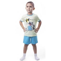 фото Пижама для мальчика Свитанак 205537. Размер: 30. Рост: 110 см