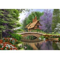 Купить Пазл 1000 элементов Castorland «Дом у реки»