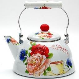фото Чайник эмалированный Mayer&Boch MB-23075 «Розы»