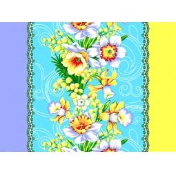 фото Комплект из 3-х кухонных полотенец подарочный ТексДизайн «Нарцисс, Руское поле, Краски лета»