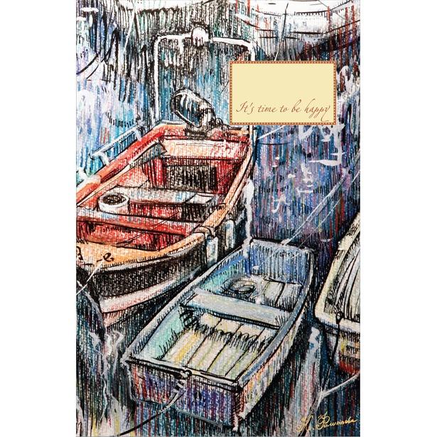фото Блокнот. Рыбацкие лодки на отдыхе
