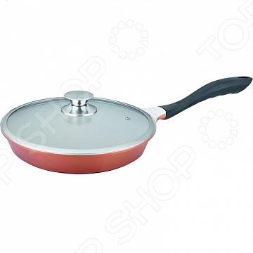 Сковорода Winner WR-6160Сковороды<br>Сковорода Winner WR-6160 подойдет для приготовления широкого спектра блюд: жарки, тушения и пассеровки различных ингредиентов. Равномерное распределение тепла способствует ускорению процесса приготовления блюд, сохраняя при этом большое количество полезных веществ и витаминов. Сковорода изготовлена из алюминия с высококачественным антипригарным керамическим покрытием. В керамике не содержится вредных примесей, поэтому пища при приготовлении остается здоровой и экологичной. Сковорода подходит для использования на всех видах плит, в том числе и на индукционных.<br>