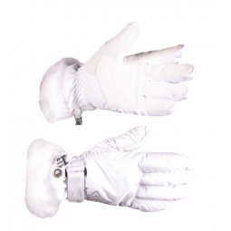 Купить Перчатки горнолыжные GLANCE Lady (2011-12). Цвет: белый