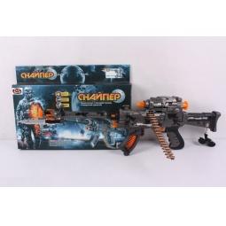 Купить Автомат игрушечный PlaySmart со светозвуковыми эффектами «Снайпер»