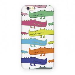 фото Чехол для iPhone 6 Mitya Veselkov «Большие крокодилы»