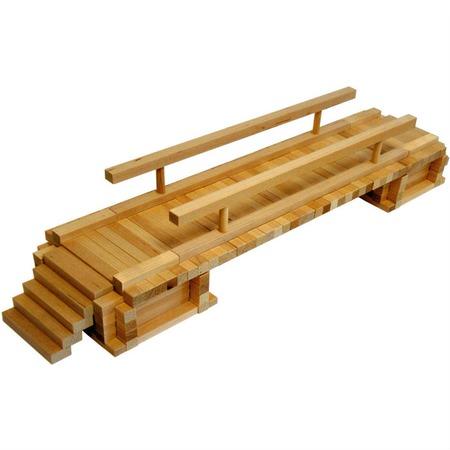 Купить Конструктор деревянный Теремок «Деревенский мостик»