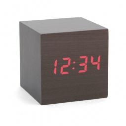 Купить Часы-будильник Kikkerland «Куб»