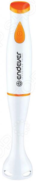 Блендер погружной Endever Sigma-05Блендеры<br>Блендер погружной Endever Sigma-05 станет прекрасным дополнением к набору мелкой бытовой техники для кухни. Благодаря представленной модели, вы сможете легко и быстро приготовить соусы, крема, майонез, омлет, коктейли, детское питание и многое другое. За качественное измельчение продуктов отвечает нож из нержавеющей стали и импульсный режим. Рабочая часть выполнена из пищевого пластика, который не выделяет каких-либо вредных веществ. Блендером можно работать буквально одной рукой. Компактные размеры, эргономичный дизайн и простота управления сделают этот прибор незаменимым.<br>