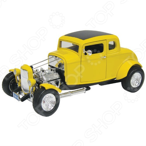 Модель автомобиля 1:18 Motormax Ford Hot Rod fossil часы fossil es4147 коллекция virginia
