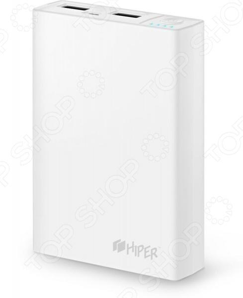 Аккумулятор внешний HIPER RP10000 - практичная и удобная модель, которая позволит подзарядить телефон , а так же другие устройства, в любом месте, где отсутствует доступ к электричеству. В нем предусмотрено два разъема USB, что позволяет работать одновременно с двумя устройствами. Такая модель выручит вас в походах, путешествиях и в любых других ситуациях, когда не хватает емкости стандартного аккумулятора. В комплекте кабель USBmicro-USB для подзарядки мобильных устройств.