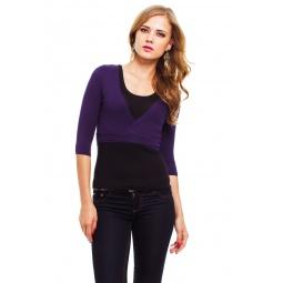 фото Болеро Mondigo 071. Цвет: темно-фиолетовый. Размер одежды: 46