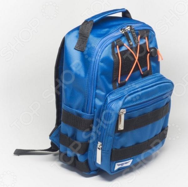Рюкзак дошкольный Babiators Blue AngelsРюкзаки. Сумки. Портфели<br>Рюкзак дошкольный Babiators Blue Angels созданный специально для детей. Рюкзак подойдет как для походов в школу, так и для поездок в экскурсии. В главное отделение можно вместить тетради, дневник, бутылочку воды, любые наборы карандашей, фломастеров и другие нужные вещи. Имеет одно внутреннее отделение на молнии, регулируемые лямки, специальную ручку для размещения на вешалке. Комфортная посадка и идеальный размер для ежедневного ношения. Внимание. Производитель предоставляет гарантию не только от поломки, но и от потери изделия! Вся необходимая информация о том, как воспользоваться данной гарантией, находится в информационном вкладыше вместе с товаром.<br>
