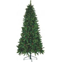 фото Ель искусственная Crystal Trees «Подмосковная». Высота: 190 см