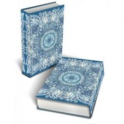 фото Книга-шкатулка Феникс-Презент «Голубой узор»
