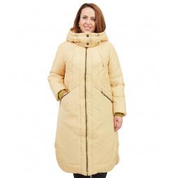 Купить Пальто D`imma «Сюита». Цвет: желтый