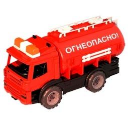 фото Машинка игрушечная Нордпласт «Цистерна. Огнеопасно»