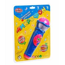 Купить Игрушка музыкальная PlaySmart «Микрофон»