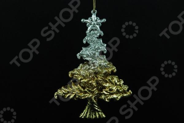 Елочное украшение Crystal Deco «Елочка» 1707670