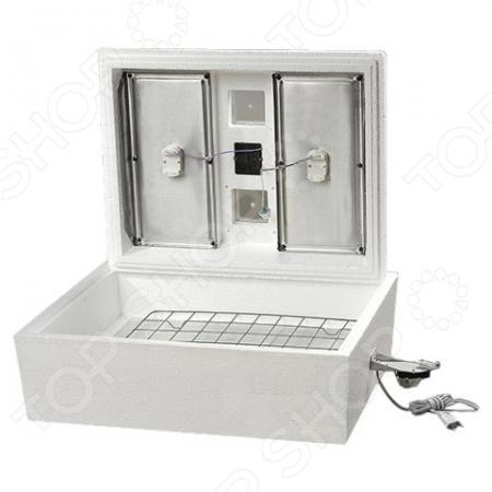 Инкубатор Олса-Сервис Золушка ИК 28 220В уникальное устройство для выведения цыплят, утят, гусят и других птенцов искусственным путем. Нагревательные элементы размещены так, что занимают максимально возможную площадь, что обеспечивает равномерное распределение тепла. Запатентованная конструкция нагревательных элементов позволяет работать инкубатору не только от электричества, но и от энергии горячей воды.  Условия процесса инкубации максимально приближены к естественным, поэтому при закладке здоровых яиц можно ожидать успешность выводимости до 100 .  Работает от сети 220 В.  Корпус изготовлен из пенополистирола. Данный материал обеспечивает прибору оптимальные термодинамические свойства.  Автоматический поворот яиц.
