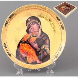 Купить Тарелка декоративная Elan Gallery «Пресвятая Богородица Владимирская»