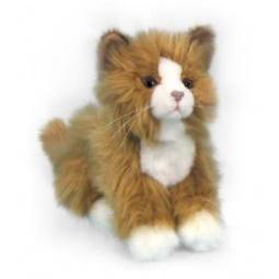 фото Мягкая игрушка Hansa «Кошка рыжая»