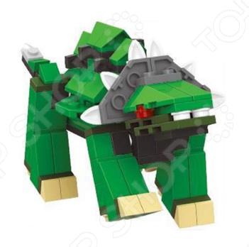 Фигурка сборная Dr.Luck «Динозавр» 26115Игровые конструкторы<br>Фигурка сборная Dr.Luck Динозавр 26115 игрушка, которую дети должны собрать самостоятельно. От этого игровой процесс становится еще более увлекательным, ведь ребенок самостоятельно создает себе игрушку из элементов набора. Игра с фигуркой развивает мелкую моторику рук, фантазию и пространственное мышление.<br>